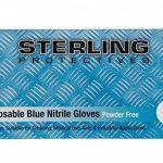 gant jetable nitrile bleu TOP 11 image 1 produit