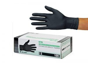 gant latex noir jetable TOP 4 image 0 produit