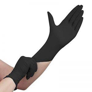 gant latex noir jetable TOP 6 image 0 produit
