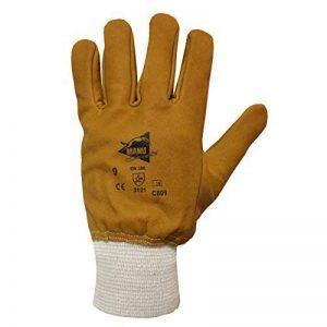 Gants 100% Cuir Hydrofuge - Captain Kosto - Gants de jardinage - Gants de Protection de la marque Manusweet image 0 produit