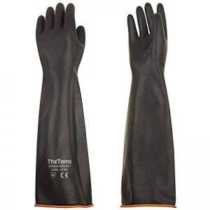gants caoutchouc noir TOP 8 image 0 produit