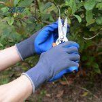 Gants de jardinage 2 paires XL gants de travail pour femmes et hommes gants de sécurité avec revêtement en latex pour jardinage, cuisine, gants de protection de la construction de la marque ZAPO image 2 produit