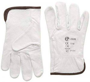 gants de jardinage cuir TOP 2 image 0 produit