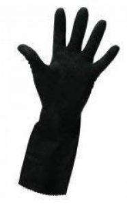 Gants de ménage en caoutchouc résistant noir - Extra Large de la marque Premier image 0 produit