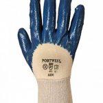 Gants en caoutchouc nitrile léger côtes de la marque Lizard Clothing image 1 produit