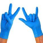 gants nitrile bleu non poudrés TOP 6 image 4 produit