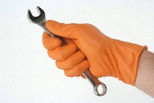gants nitrile orange TOP 3 image 0 produit