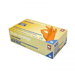 gants nitrile orange TOP 6 image 0 produit