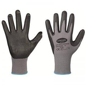 Gants sans coutures eN388 flexible hANDAN à picots adhérente gants de travail à picots de la marque FMN image 0 produit