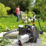 GARDENA Pompe d'arrosage de surface 6000/6 inox Premium: pompe d'arrosage durable, pour une utilisation en extérieur avec débit de 6000 l/h, boîtier inox, protection thermique (1736-20) de la marque Gardena image 2 produit