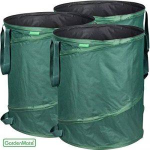 GardenMate® 3x sac de déchets Pop Up tissu Oxford 600D 160L de la marque GardenMate® image 0 produit