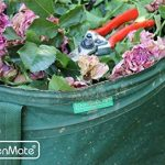 GardenMate® 3x sac de déchets Pop Up tissu Oxford 600D 160L de la marque GardenMate® image 3 produit