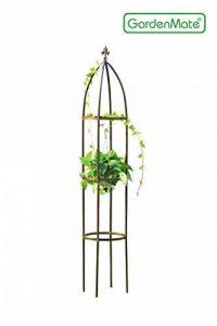 GardenMate® Obélisque Bronze massif Ø 35cm Hauteur 190cm acier (Revêtement par poudre de la marque GardenMate image 0 produit
