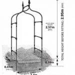 Gardman 07730 Arche Gothique pour Jardin de la marque Gardman image 3 produit