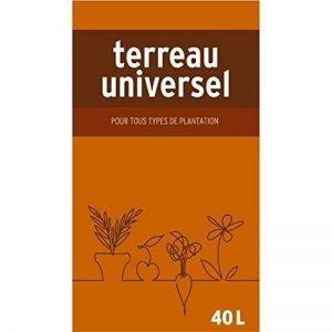 Générique NO NAME NNTUNI40 Terreau Universel, Marron, 40 L de la marque Générique image 0 produit