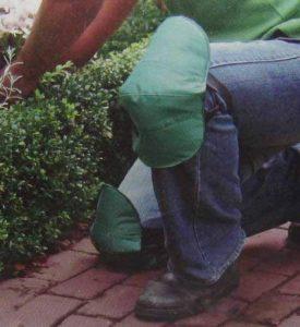 Genouillères Genouillères Protège-Genoux Ensemble 2pièces pour le travail Jardin avec fermeture Velcro, coussin tapis Protections pour genoux Protège Coussin (Protection LHS) de la marque Land-Haus-Shop image 0 produit