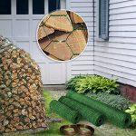 Grillage pour jardin casa pura® clôture vert | tailles au choix | diamètre de maille 25mm | résistant aux intempéries | bricolage, 100cmx25m de la marque casa pura image 4 produit