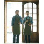 Hense Amy Vert sur toile Atelier Soudeurs Tablier pour jardin de cuisine poterie Craft Atelier Garage Tissu avec Rivet Motif toile (Hsw-053). de la marque HENSE image 2 produit