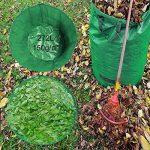 HOOMIL Sacs de Jardin, Multi-usages Sac à Déchets de Jardin en Water-Repellent PP Woven Fabric 272L - H3103 (Vert) de la marque HOOMIL image 3 produit