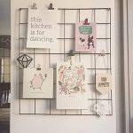 Importé du Japon - Support mural en treillis métallique pour la cuisine ou le jardin, Métal, blanc, 26cm x 40.5cm de la marque CF image 4 produit
