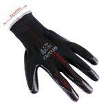 Incutex 12x gants de travail gants de montage gants mécanique gants de construction avec revêtement en nitrile, taille M de la marque Incutex image 2 produit