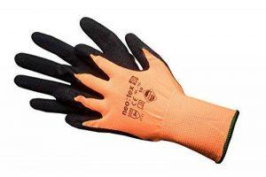 Jah nl Gant de 02Nylon, revêtement en latex, Orange, Taille 10, Lot de 24 de la marque JAH image 0 produit