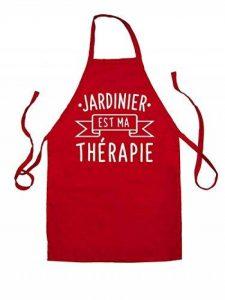 Jardinier est ma thérapie - Unisex Tablier pour adulte - 8 couleurs de la marque Dressdown image 0 produit