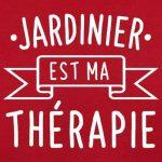 Jardinier est ma thérapie - Unisex Tablier pour adulte - 8 couleurs de la marque Dressdown image 1 produit