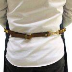 Jiyaru Tablier Homme Tablier Cuisine en Denim Réglable Tablier Travail 78x60cm de la marque Jiyaru image 3 produit