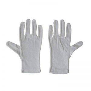 Kaavie Hommes 100% soft gants de coton blanc x 2 paires Large Photo de la marque Kaavie image 0 produit