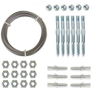 kit complet pour treillis métallique - Ø1,8 mm x 10 m de la marque Outside Living Industries image 0 produit