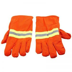 KKmoon Gants de Feu Gants de Protection Incendie Chaleur Preuve étanche Ignifuge Anti-dérapant Anti-incendie Anti-feu de la marque KKmoon image 0 produit