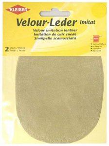 Kleiber 12.5 x 10 cm Patchs à coudre simili daim pour genoux/coudes ovales, Soie de la marque Kleiber image 0 produit