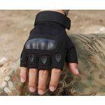 KT-SUPPLY Gants Militaire Gants Protection Gants Armée Gants Moto Gants Chasse Demi Doigts Pour Adulte de la marque KT-SUPPLY image 3 produit