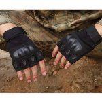 KT-SUPPLY Gants Militaire Gants Protection Gants Armée Gants Moto Gants Chasse Demi Doigts Pour Adulte de la marque KT-SUPPLY image 2 produit