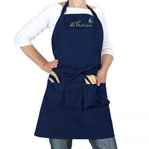 La Cordeline CJN45JE Tablier de Jardin Coton Bleu Jean 85 x 03 x 75 cm de la marque La cordeline image 0 produit