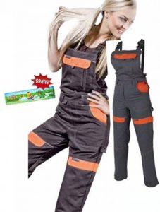 Les femmes salopettes travail pantalons dames et filles Pantalon de travail Salopette pantalon de de jardinage , combinaison 40 EU de la marque ARDON image 0 produit