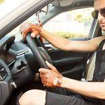 les gants de daim sans doigts hommes demi nappaglo conduite moto cyclisme riding non doigt de gants en cuir de la marque Nappaglo image 1 produit