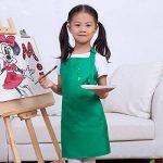 LissomPlume Tablier De Peinture à Deux Poches Enfant Fille Blouse Peinture Tablier Cuisine Cuisson Garçon de la marque LissomPlume image 1 produit