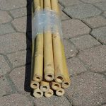 Lot de 10 cannes de bambou pour potager, 210 cm de la marque FERRITALIA image 1 produit