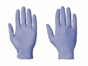 Lot de 100 gants jetables en Nitrile Non poudrés Bleu Taille L (free P P & sur tous les produits) de la marque Disposable Gloves image 0 produit