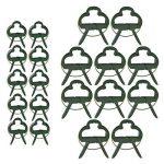 Lot de 60clips de support pour plantes de jardin en plastique Clips Clips de vigne Plante pour soutenir tiges développer Droit (30Grande + 30Petite de la marque KINGLAKE image 2 produit