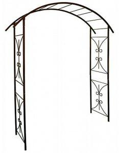 Louis Moulin Arche tube carré pour Plante grimpante Fer vieilli 180 x 50 x 250 cm 3026 de la marque Louis Moulin image 0 produit