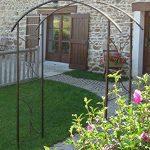 Louis Moulin Arche tube carré pour Plante grimpante Fer vieilli 180 x 50 x 250 cm 3026 de la marque Louis Moulin image 1 produit