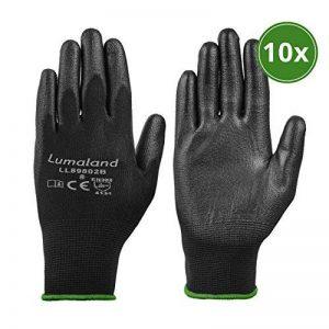 Lumaland Gants de travail léger en nylon tricoté 10Paires norme EN 388 4131 taille M de la marque Lumaland image 0 produit
