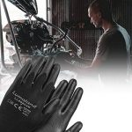 Lumaland Gants de travail léger en nylon tricoté 10Paires norme EN 388 4131 taille M de la marque Lumaland image 2 produit