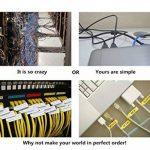 Mr-Label® Auto-adhésif autocollant Étiquette de câble - étanche | Résistant à la déchirure | Durable - Avec l'outil d'impression en ligne - pour imprimante laser (20 Feuilles (600 Étiquettes))(10 Couleurs assorties) de la marque Mr-Label image 2 produit