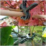 Musuntas Lot de 60clips de support pour plantes de jardin Clips plantes grimpantes support Tuteur Clips, Vigne et légumes de clips de jardin à levier Loop Grippers de la marque Musuntas image 4 produit