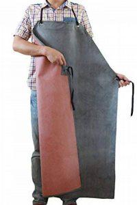 Nanxson Tablier Hommes Épais Long en Caoutchouc Résistant À L'huile Imperméable pour Abattoir Usine de la marque Nanxson image 0 produit