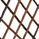 Nature by Colibri 5x Bois treillis Tuteur Clôture pare-vue variable jusqu'à 180x 60cm de la marque Nature by Kolibri image 2 produit